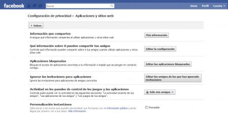 Presonalizacion Instantanea Facebook