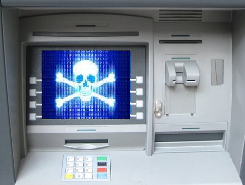 ATM hackeado
