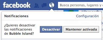 Bloquear invitaciones juegos facebook - 2