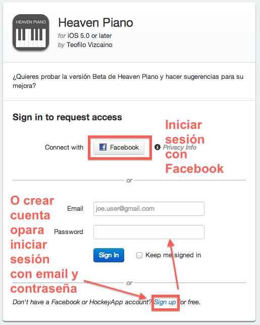 Heaven Pian Request Access