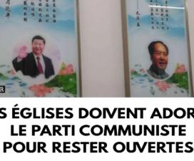 Les églises doivent adorer le Parti communiste pour rester ouvertes