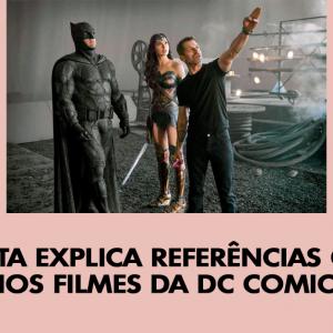 Cineasta explica referências cristãs nos filmes da DC Comics