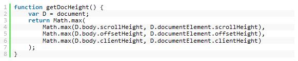 document-height