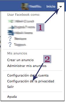 configuracion de la privacidad
