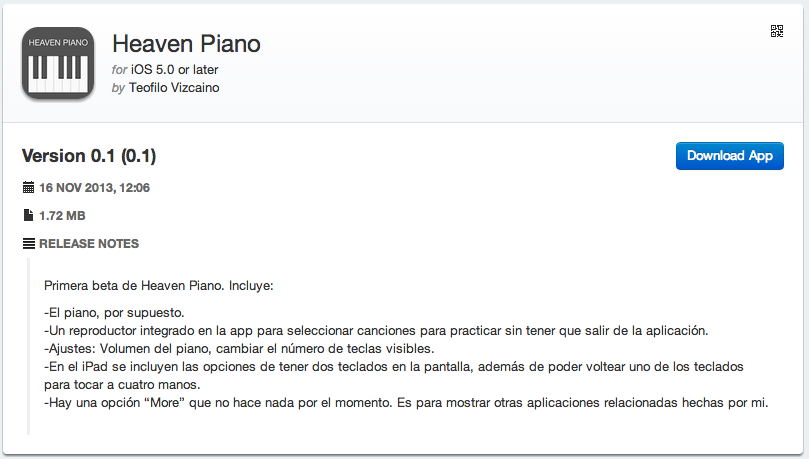 Heaven Piano Beta - Download