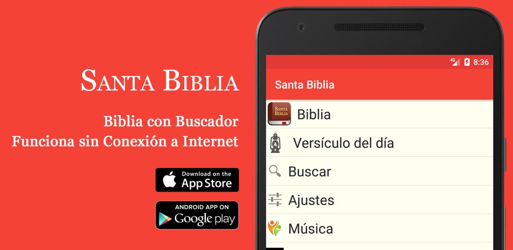 Santa Biblia Gratis descargar en Google Play y Play Store