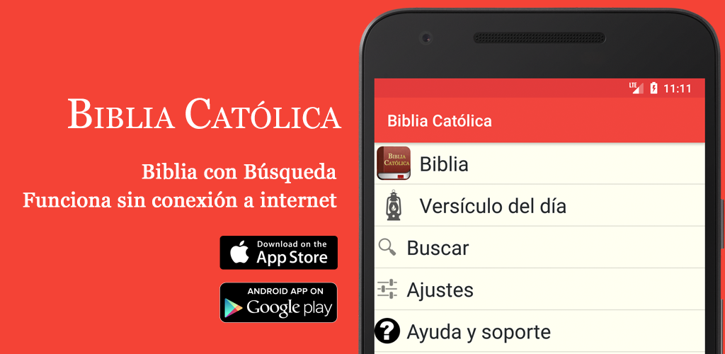 Descargar la Biblia Católica para iPhone y Android