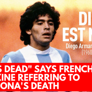 God is dead says French magazine referring to Maradona's death