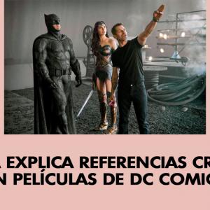 Cineasta explica referencias cristianas en películas de DC Comics